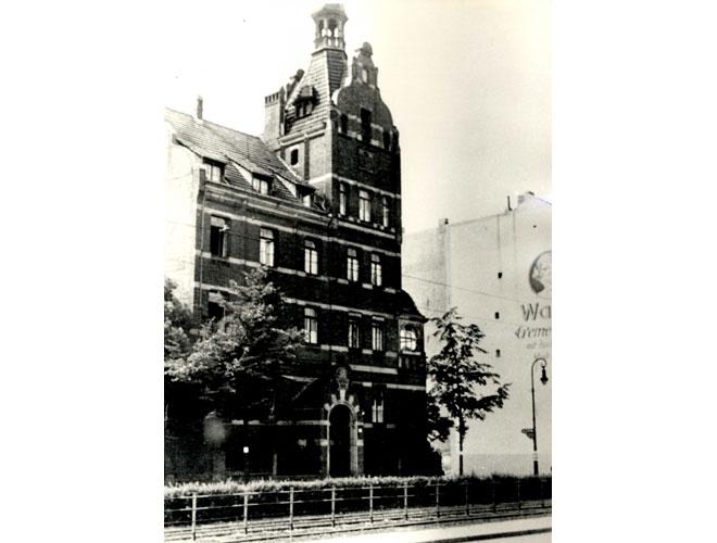 Haupteingang des Viktoriahauses für Krankenpflege 1920er