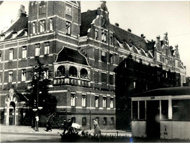 Teilansicht des Viktoriahauses für Krankenpflege 1920er
